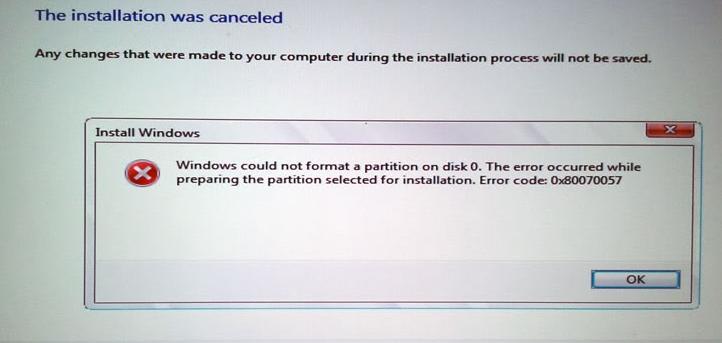 طريقة اكتشاف الخطأ 0x80300024 على Windows 10