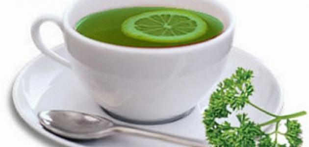 طريقة تحضير شاي البقدونس